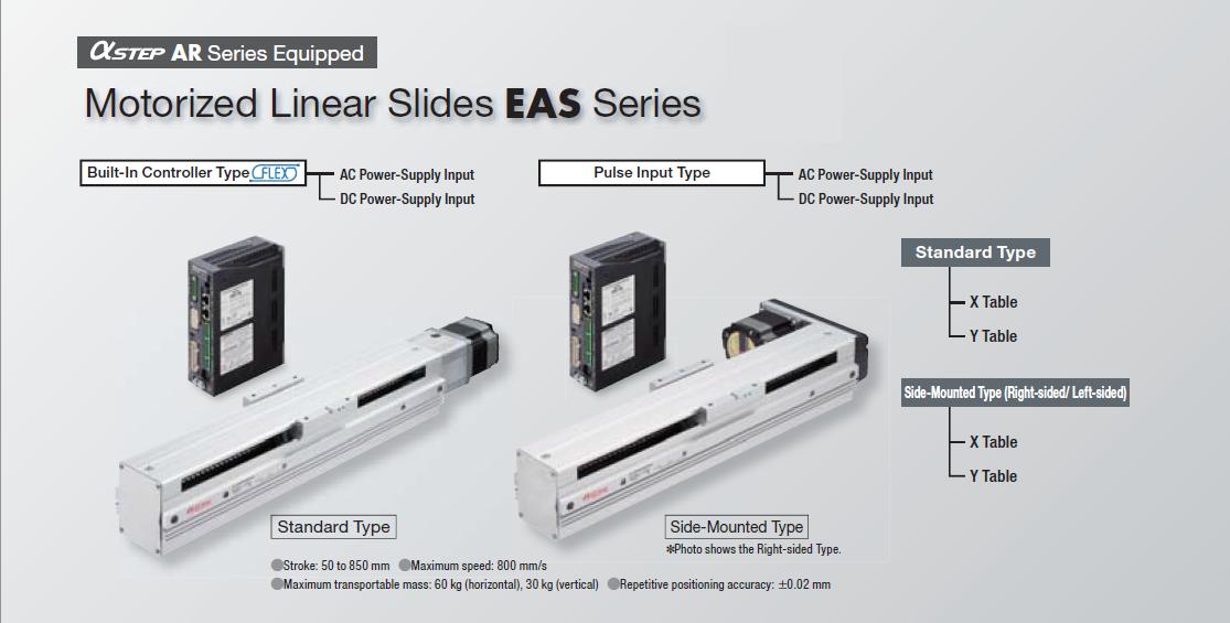 EAS Series (Features) :: Motorized Actuators :: Product
